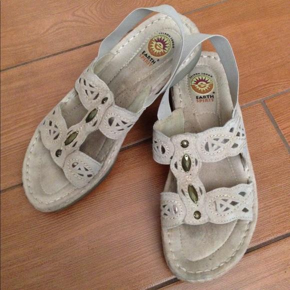 e8b1d16afae4 Earth Spirit Shoes - Earth Spirit Gelron 2000 Sandals size 8